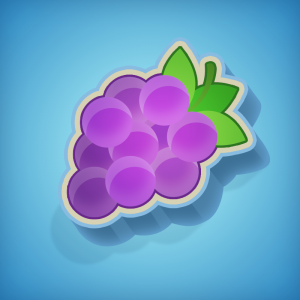 Symbool druiven